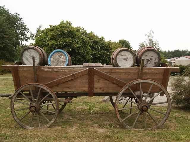 Alter Transportwagen